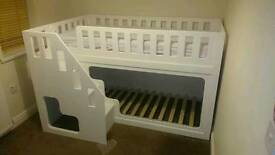 Handmade Bunk Beds Made To Order. Free Local Delivery.