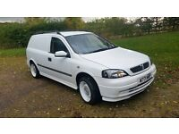 vauxhall astra van banded wheels mot many mods needs att!!