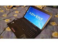 Advent Modena 15.6 Wireless Laptop Pc 640 Gb Hdd/2 Gb Ram/Intel 1.90 ghz cpu/Win 7 Pro/Office 2016