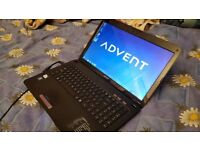 Advent Modena 15.6 Wireless Laptop Pc 640 Gb Hdd/2 Gb Ram/Intel 1.90 ghz cpu/Win 7 Pro/Office 2016