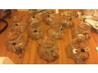10 glass vases