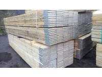 13FT Scaffold Boards brand new 3.9mt long wide 36-38mm Thick.