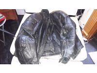 Frank Thomas Leather Jacket Sml Ladies