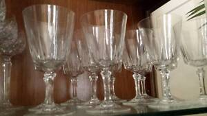 Crystal water glasses Yowie Bay Sutherland Area Preview
