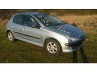 Peugeot 206 Look 1.1 ltr petrol