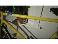 Vintage Gordon Bennett Custom Fixed Gear Bike