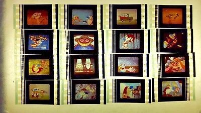 REN AND STIMPY film cell lot of 12 - complements movie dvd poster