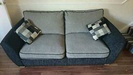 Large 2 seater sofa and chair