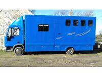Iveco Horsebox. 7.5t