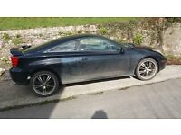 TOYOTA CELICA 190 V V T I JAPANESE IMPORT 02 WITH 51 PLATE £600 ONO - OFFERS CONSIDERED