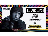 2 x Eminem tickets - Thursday 24th August 2017 - Bellahouston Park, Glasgow