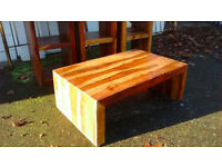 Solid Indian Rose Wood Cube Lounge Furniture