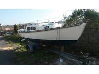 Hurley signet 20 trailer sailer boat