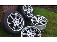 civic type r alloy wheels £160.00