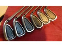 Wilson Platinum Irons Fatshafts,, 5-PW Stiff Shafts BARGAIN£30