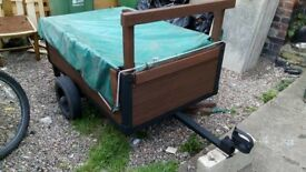 Small trailer plus lights and cover