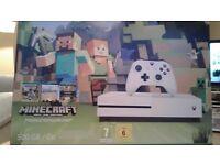 Xbox One S Minecraft bundle still in box