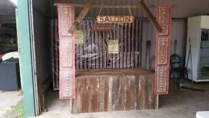 Wild west usable saloon