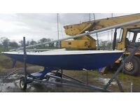 Flying 15 Keelboat + trailer