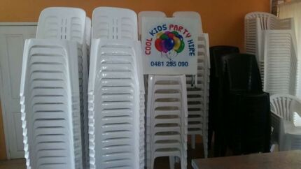 Chairs for HIRE $1-25 each for 48hrs
