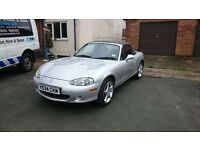 Mazda MX5 MK2 Silver Special Edition Icon