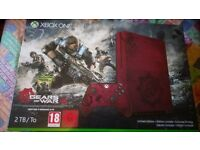 Gears of war 4 limited edition Xbox one s 2tb console