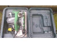 circular saw ( hitchi ) 110volt ) in box will swap