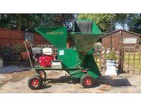 Garden shredder/chipper with operator. All garden work undertaken.