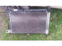 Vauxhall corsa 1.2 Radiator Pack and Fan