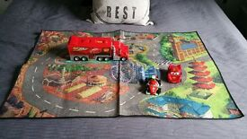 DISNEY CARS SET FROM THE DISNEY STORE