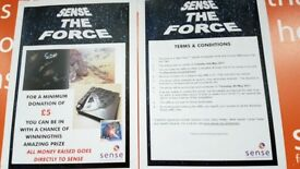 RAFFLE for a Star Wars autograph book.