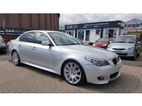 """""""STUNNING"""" BMW 5 SERIES 525D M-SPORT AUTO (2006) FULLY LOADED - F.S.H - NEW MOT - HPI CLEAR!"""