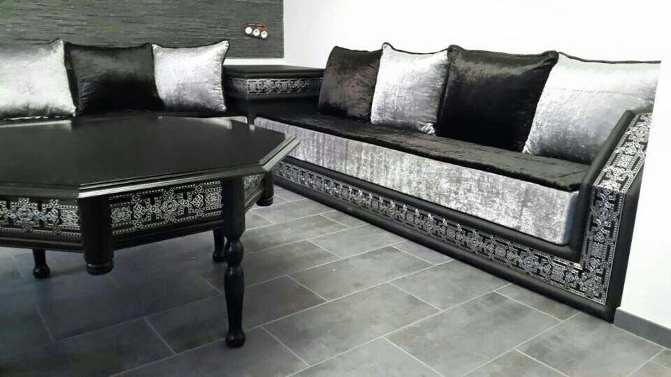 Moroccan arabic corner sofa majlis sadari in canning for Types of canape bases