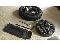 vauxhall astra (J) 09-16 continental space saver wheel kit