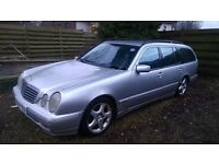 Mercedes E320 CDI Diesel Estate avantgarde Automatic Spares Repairs