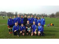 SOUTH LONDON BASED WOMENS FOOTBALL CLUB LOOKING FOR EXPERIENCED PLAYERS LADIES FOOTBALL/SOCCER/TRIAL
