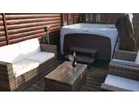 Beautiful luxury 3 bedroom lodge on Lake Windemere with xtra large HOT TUB