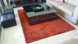 FREEDOM shaggy rug Dark orange Parramatta Parramatta Area Preview