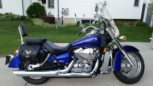 2004 Honda Shadow Aero VT750 - Indigo Blue / Black