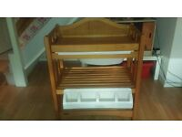 For Sale Mama's & Papa's Solid Pine Wooden Baby Changing Unit
