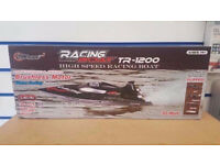 TOP RACE REMOTE CONTROL RC BOAT HIGH SPEED TR-1200 - BRAND NEW WITH RECEIPT