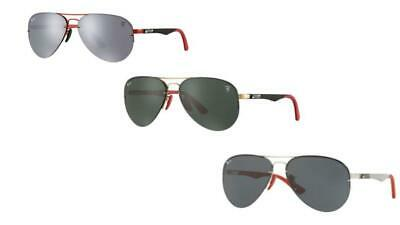 Ray-Ban Men Sunglasses Scuderia Ferrari Collection (Rayban Collection)