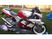 Yamaha FZR400 RR in good condition for sale - a lot spent and comes with spare SP model engine