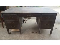 Very large 1960's office desk