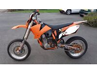 KTM EXC 450 Supermoto Wanting to Swap for a 600-1000cc Road Bike