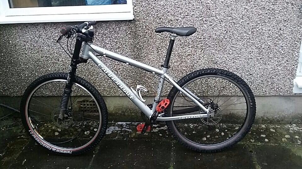 Cannondale F4 Lefty Mountain Bike In Southside Glasgow Gumtree