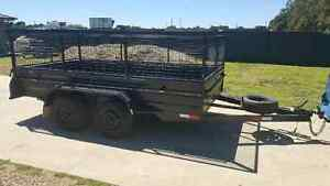 HIRE 12x6 CAGE 8x5 CAGE/RAMP BIKE TRAILER FOR RENT Kemps Creek Penrith Area Preview