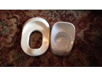 Potty and toliet seat