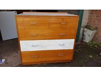 Large chest of drawers. Good condition