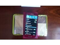 Samsung Galaxy S3 GT-I9300 Garnet Red mobile phone mint condition unlocked
